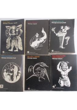 Mitologie, zestaw 6 książek