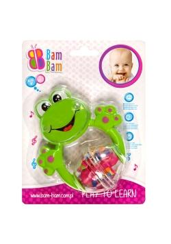 Bam bam grzechotka żaba