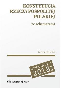 Konstytucja Rzeczypospolitej Polskiej ze schematem