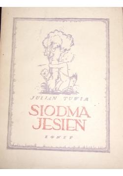 Siódma jesień, 1922 r.