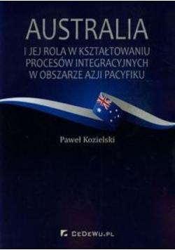 Australia i jej rola w kształt. procesów integr.
