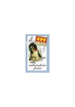 499 porad dla miłośników psów