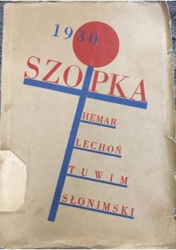 Szopka polityczna, 1930r.