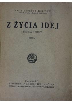 Z życia Idej , 1925r.