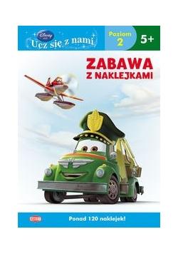 Disney Ucz się z nami Samoloty 2 Zabawa z naklejkami