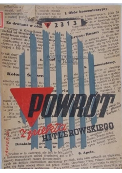 Powrót z piekła Hitlerowskiego, 1946 r.