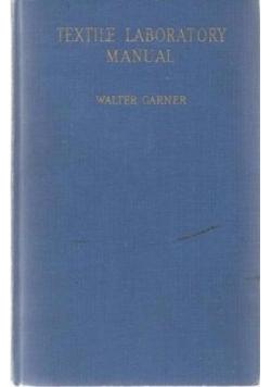 Textile Laboratory Manual, 1949 r