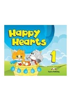 Happy Hearts 1 PB +CD + DVD EXPRESS PUBLISHING