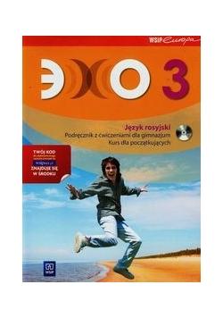Echo 3 Podręcznik z ćwiczeniami z płytą CD Kurs dla początkujących