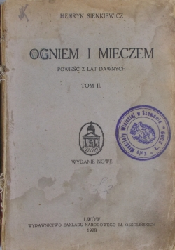 Ogniem i Mieczem , 1928 r.