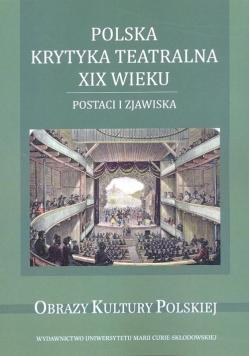 Polska krytyka teatralna XIX wieku