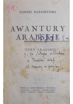 Awantury arabskie, 1927r.