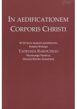 In Aedificationem Corporis Christi