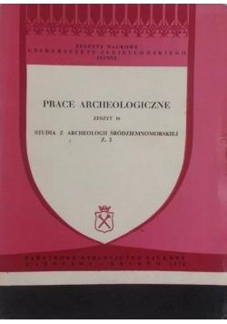Prace archeologiczne.Zeszyt 16. Studia z archeologii śródziemnomorskiej, z. 2