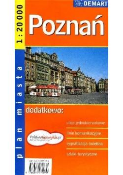Poznań. Plan miasta 1:20 000