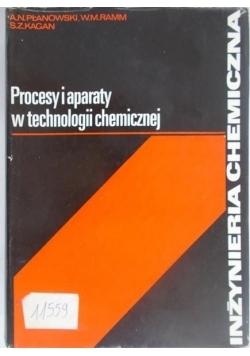 Procesy i aparaty w technologii chemicznej