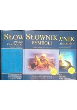 Słownik terminów literackich/ Słownik symboli/ Słownik związków frazeologicznych