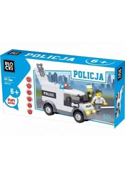 Klocki Blocki Policja Furgonetka