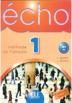 Echo 1 Methode de francais , bez CD