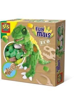 Funmais z drewnianym szkieletem dinozaura do wyklejenia