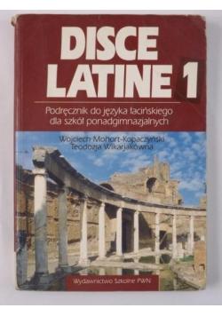 Disce Latine 1 Podręcznik do jęz.łacińskiego dla szkół ponadgimnazjalnych