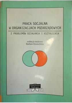 Praca socjalna w organizacjach pozarządowych