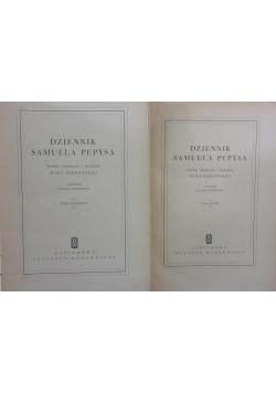 Dziennik Samuela Pepysa, Tom I-II