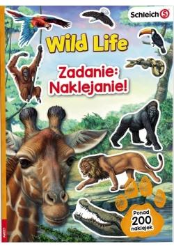 Zadanie: Naklejanie! Wild Life