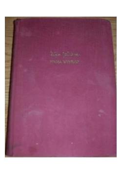 PISMA WYBRANE, Tom I-II