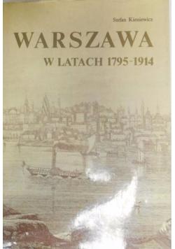 Warszawa w latach 1795-1914
