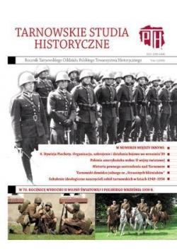 Tarnowskie studia historyczne T.1