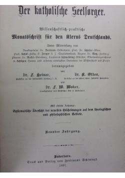 Der katholische seelsorger, 1897r.
