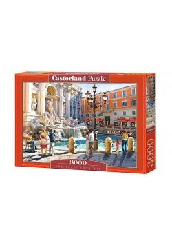 Puzzle 3000 Fontanna Di Trevi CASTOR