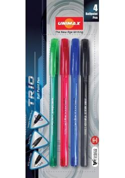 Długopis Trio standard 4 kolory UNI-MAX