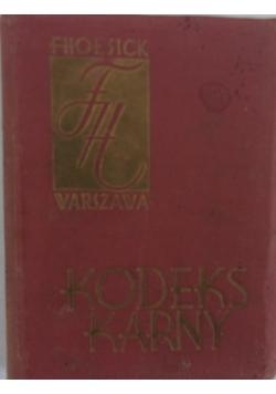 Kodeks karny, 1932 r.