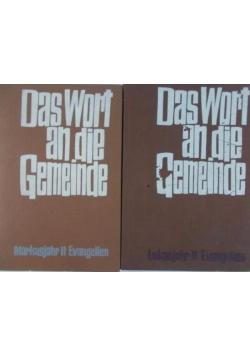 Das Wort an die Gemeinde, Zestaw 2 książek
