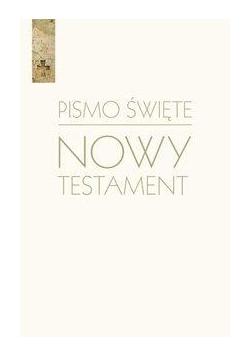 Pismo Święte Nowy Testament biały w.2018