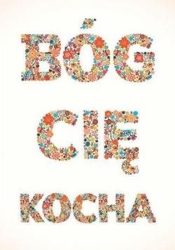 Magnes na lodówkę - Bóg Cię Kocha