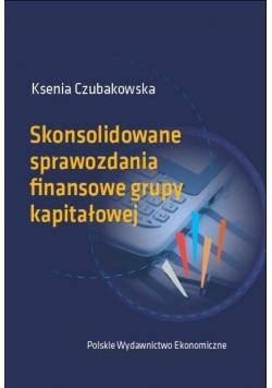 Skonsolidowane sprawozdania finansowe grupy kapitałowej