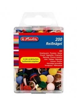 Pinezki kolorowe 200 szt.