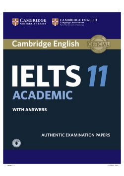 Cambridge IELTS 11 Academic Student's Book with Answers with Audio