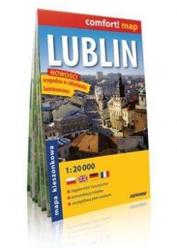 Comfort!map Lublin 1:20 000 midi plan miasta