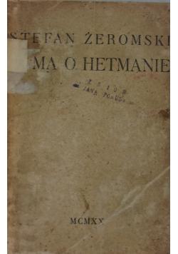 Duma o Hetmanie ,1919r.