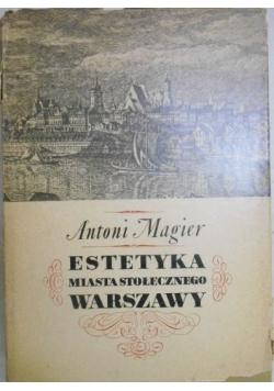 Estetyka miasta stołecznego Warszawy