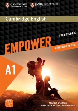 Cambridge English Empower Starter Student's Book with online access