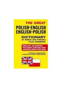 Wielki słownik pol-ang ang-pol+przegląd br