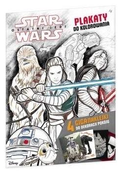 Star Wars. Plakaty do kolorowania