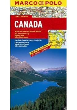 Mapa Drogowa Marco Polo. Kanada 1:4 000 000