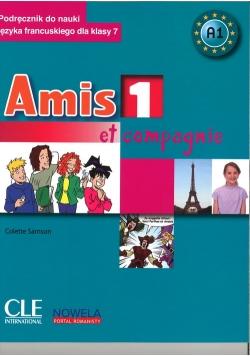 Amis et compagnie 1 7 Podręcznik + CD