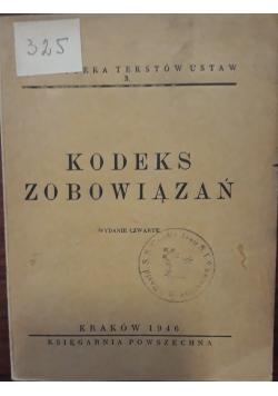 Kodeks Zobowiazań , 1946 r.